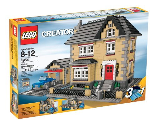 Cheap LEGO® Creator Model Townhouse Best Buy | House Building Toys ...