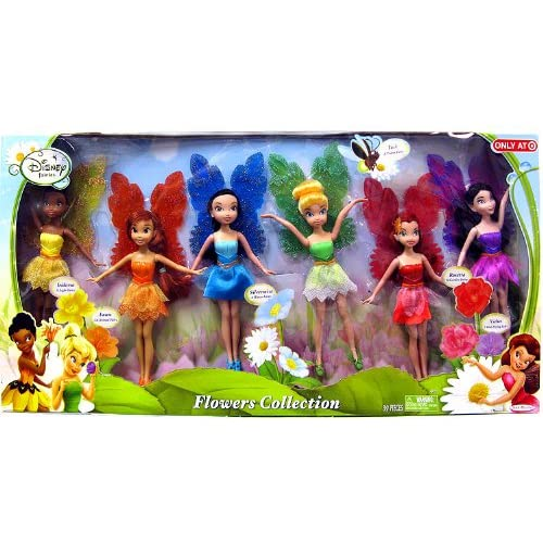 Disney Fairies Exclusive 9 Inch Doll 6-Pack Flowers Collection [Fawn