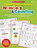 Instant Practice Packets: Numbers & Counting: Ready-to-Go Activity Pages That Help Children Recognize, Write, and Learn Their Numbers From 1 to 30 (Teaching Resources) (054530587X) by Novelli, Joan