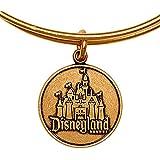 Disney Parks Alex and Ani Disneyland Castle Gold Charm Bracelet