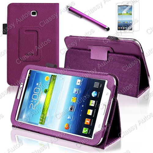 Classy Autos 360 Degree Rotating or Folio Case Cover For Samsung Galaxy Tab 3 7 7.0