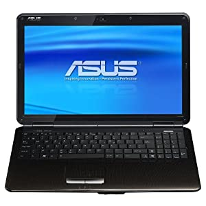 Asus K50IJ-X3 15.6-Inch Versatile Entertainment Laptop - Black