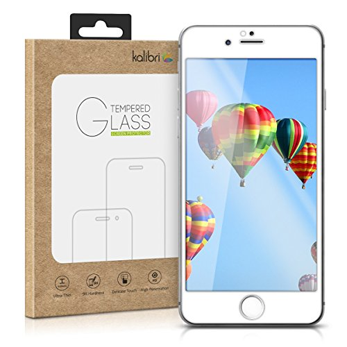 kalibri-Echtglas-Displayschutz-fr-Apple-iPhone-6-6S-3D-Curved-Full-Cover-Screen-Protector-mit-Rahmen-in-Wei