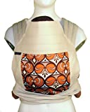 BabyHawk Mei Tai Baby Carrier (Natural/Owl Eyes Rust)