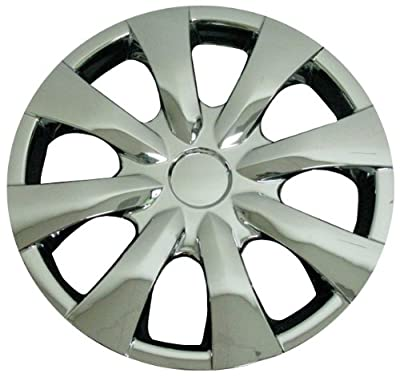 CCI IWC450-15C 15 Inch Clip On Chrome Finish Hubcaps - Pack of 4