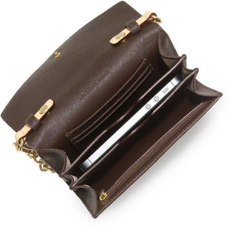 MICHAEL Michael KorsMichael Kors Handbag, Electronics Phone Crossbody Coffee