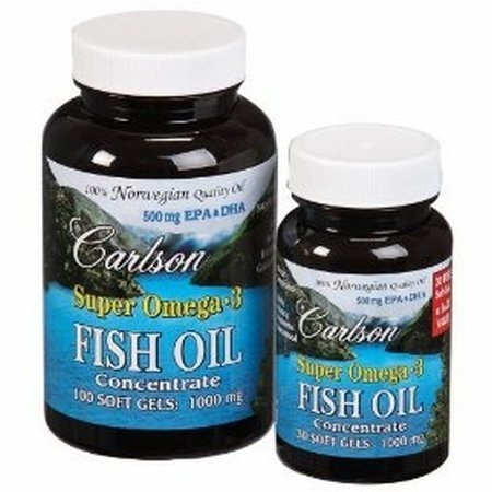 Buy price carlson super omega 3 100 30 softgels for for Carlson fish oil amazon