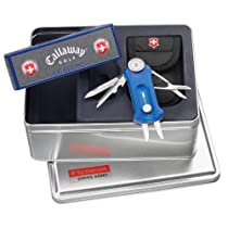 Victorinox Golf Tool/ Calloway Golf Ball Set - Sapphire (3.40