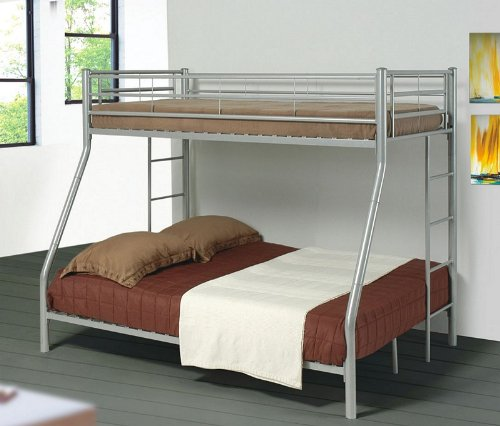 Black friday contemporary metal twin full bunk bed cheap for Cheap metal bunk beds