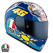 Amazon.com: AGV GP-TECH VALENTINO ROSSI DONKEY REPLICA HELMET! XXXL/3XL: Automotive