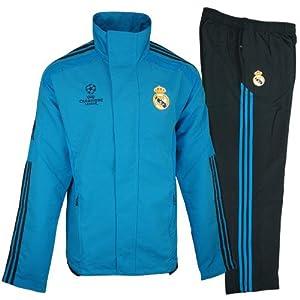 Amazon.com: Survêtement REAL MADRID UCL Bleu (2011-2012) O58135 T:168