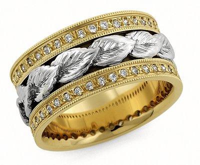 Wedding rings by oromi