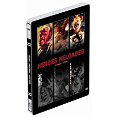 Heroes Reloaded: Spider-Man / Hellboy / Ghost Rider (3 DVDs, Steelbook)