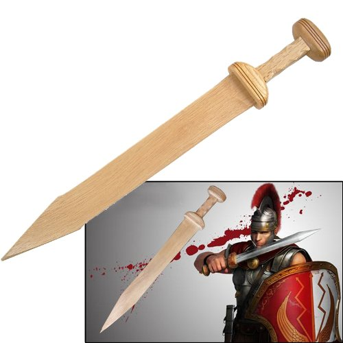 Wooden Roman Gladius Gladiator Trooper Greek Sword New