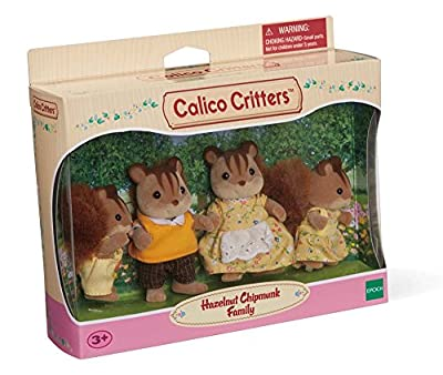 Calico Critters Hazelnut Chipmunk Family Playset from International Playthings