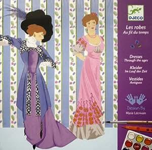 Djeco Feutres Pinceaux Les Robes au Fil du Temps: Jeux