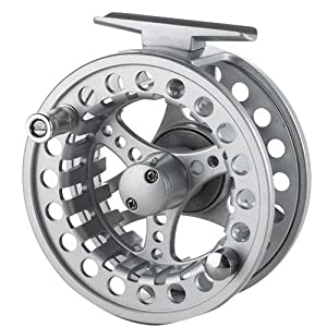 2+1 BB Aluminum Fly Reel 7/8 Flying Fishing Outside Diameter: 95mm. by Made in China