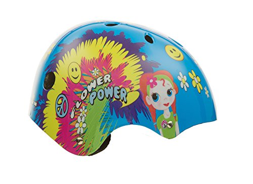 Titan-Flower-Power-Princess-11-Vents-Protective-BMX-and-Skateboard-Helmet-Small