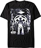 Star Wars Rogue One LOOMING EMPIRE Graphic T-Shirt MEN'S XL - Disney 2016 - UNCIRCULATED, Unopened Shirt With original tag FACTORY SEALED!