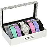 XOXO Women's XO9069 Analog Display Analog Quartz White Watch