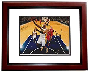 Paul George Autographed  Hand Signed Indiana Pacers 8x10 Photo - MAHOGANY CUSTOM...