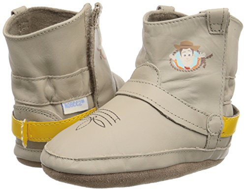 Robeez Disney Woody Boot Crib Shoe Infant Taupe 12 18