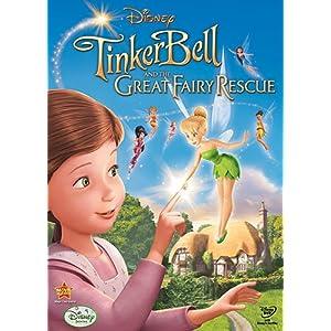 ทิงเกอร์เบลล์ ผจญภัยแดนมนุษย์ Tinker Bell And the Great Fairy Rescue /หนังการ์ตูน