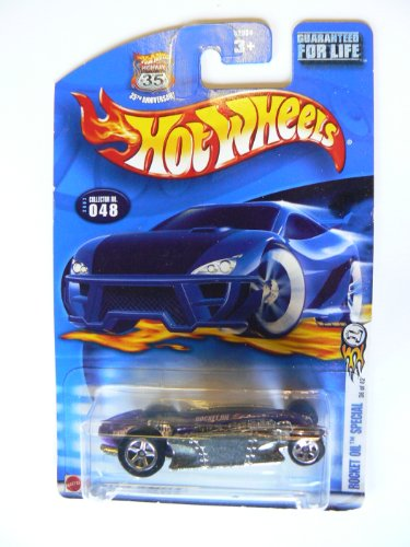 Hot Wheels 2002 Rocket Oil Special, 35th Anniversary Card, #048