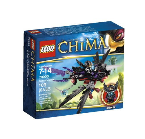Lego, Legends of Chima Razcal's Glider (70000) - 1