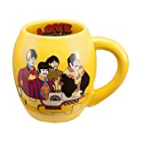 Vandor LLC 64364 The Beatles Yellow Submarine 18-Ounce Oval Ceramic Mug, Multicolored Amazon.com