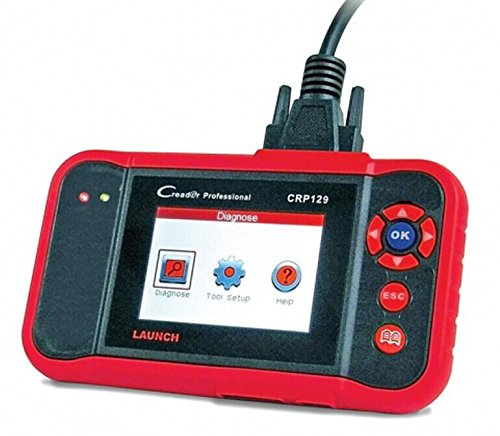 Launch X431 CRP129 ENG/AT/ABS/SRS EPB SAS Oil Service Light resets Code Reader For Mechanic and Experenced Enthusiast