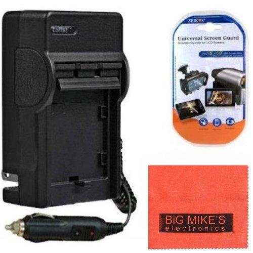 DMW-BCK7 Battery Charger for Panasonic Lumix DMC-FH25 DMC-FH27 DMC-FP5 DMC-FP7 DMC-FS16 DMC-FS18 DMC-FS22 DMC-FS35 DMC-FS37 DMC-S1 DMC-S2 DMC-S3 DMC-SZ1 DMC-SZ5 DMC-SZ7 DMC-TS20 DMC-TS25 Digital Camera + More!!