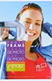Snap 4-inch-by-6-inch Clear Bent Frame