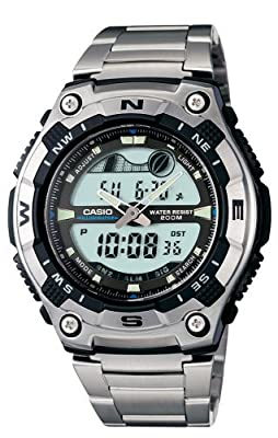 Casio Men's AQW100D-1AV Active Dial Sport Watch from Casio