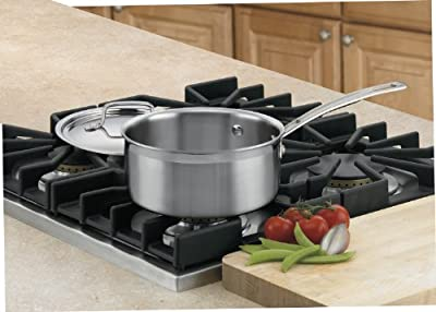 Cuisinart MultiClad Pro Stainless Steel Saucepan with Cover
