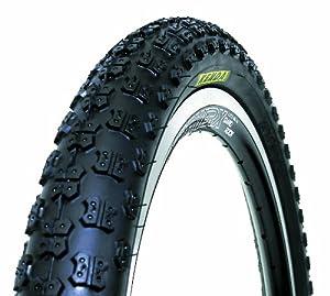 Kenda Comp III Style Wire Bead Bicycle Tire, Blackwall, 16-Inch x 2.125-Inch