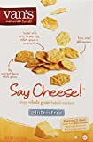 Van's Say Cheese! Crackers, 5 Ounce Boxes (Pack of 6)