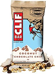 Clif Energy Protein Bars Coconut Chocolate Chip 6 Pieces