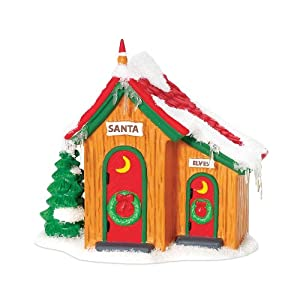 Department 56 North Pole Up North Outhouse