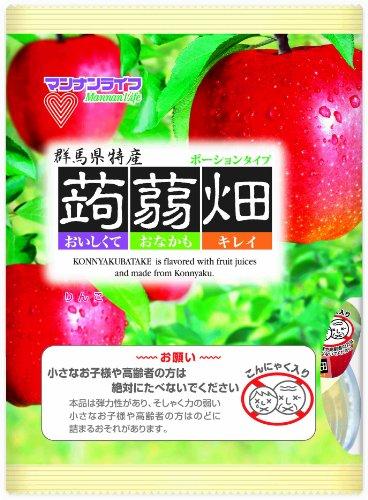 (お徳用ボックス) マンナンライフ 蒟蒻畑 りんご味 25g×12個×12袋