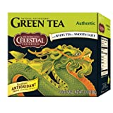 Celestial Seasonings Authentic Green Tea, 40-Count Tea Bags (Pack of 6)