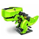 Electronictechcrafts® T4 Transforming Solar Robot Kit- Robot Insect T-rex Drill Vehicle