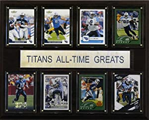 NFL Tennessee Titans All-Time Greats Plaque by C&I Collectables