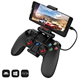 GameSir G3w Wired Game Controller Gamepad Joypad Joystick - Compatibile per Android (Smartphone con funzione OTG) / PC (Windows) / PS3