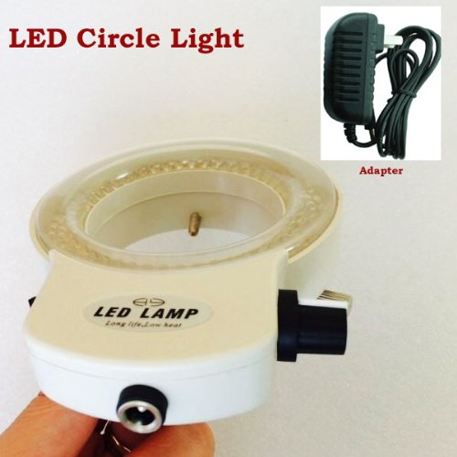 144-LED-Lamp-Ring-Light-White-Light-Color-SS-HG-09P-white-colour-for-Microscope-Camera