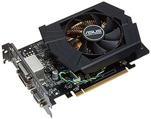 Asus NVIDIA GeForce GTX750TI PH Grafikkarte (PCI-e, 2GB GDDR5 Speicher, HDMI, DVI, VGA, 1 GPU)
