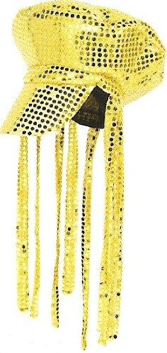 "Rasta-Mütze ""Disco-Fieber"" 32 cm gold"
