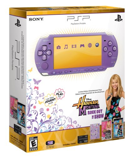 PSP 3000 Limited Edition Hannah Montana Entertainment Pack
