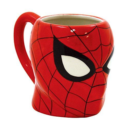 ICUP Marvel's Comics Spider-Man Molded Head Ceramic Mug