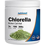 Nutricost Chlorella 300 Grams - Pure Chlorella - 3000mg Per Serving; 100 Servings - High Quality